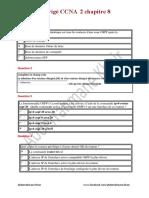 Ccna 2 Chapitre 8 v5 Francais PDF