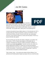 La Historia de Bill Gates