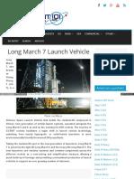 Spaceflight101 Com Spacerockets Long March 7