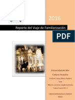 Reporte Grupal Del Viaje a La Ciudad de Mexico