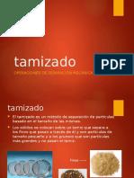 TAMIZADO