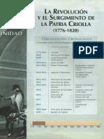 Unidad 1 - La Revolución y El Surgimiento de La Patria Criolla (1776-1820)