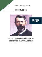 Max Weber-Etika Protestane dhe Shpirti i  Kapitalizmit.pdf