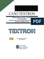 Caso Textron Company