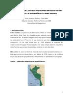 Optimizacion Fundicion de Precipitados de Oro y Plata en La Refineria Pierina