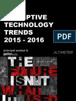 Brand innovators 2015 - trends