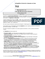 Visa Merkblatt Studium Bachillerato Alemn