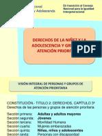 DERECHOS DE LA NIÑEZ Y LA ADOLESCENCIA Y GRUPOS DE ATENCIÓN PRIORITARIA