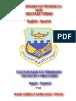 Diccionario de Terminos Tecnicos y Militares (ING-ESP)