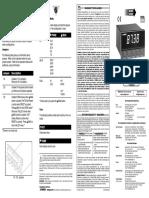 DP24-E Process Meter