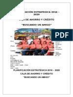 Planificación Estrategica 2016 2020