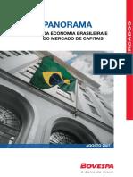 Panorama da economia Brasileira e do mercado de Capitais