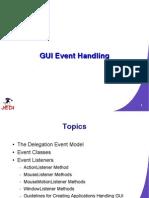 GUI Event Handling Java
