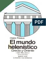 Claire Préaux, El mundo helenístico. Grecia y oriente 1.pdf