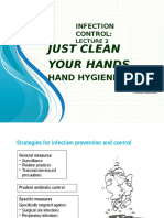 Session 6& 7 - Just Clean Your Hands