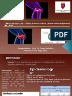 146792264 Presentacion de Meniscopatia y Artrosis