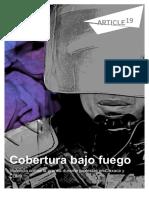 Informe Violencia Contra La Prensa Durante Protestas en Oaxaca y CDMX