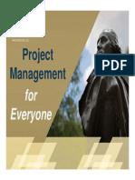 Project Management Training - Slides