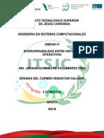 Unidad 4 Taller de Sistemas operativos I.S.C.