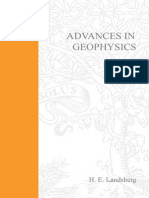 Advances in Geophysics Volume 2, Volume 2 1955