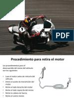 Remocion Del Motor