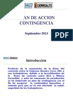 Plan de Contingencia 05 de Septiembre 2013