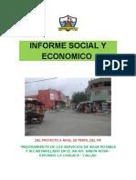 Informe Social y Economico