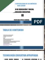 Características de La Tecnología Educativa Apropiada v2