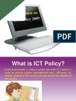 ICT Policy2009 Bangladesh