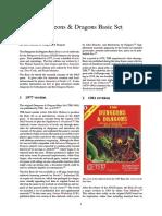 Dungeons & Dragons Basic Set