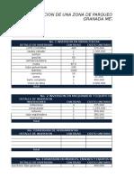 Estructura Finaciera Proyeco Parqueadero