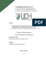 TESIS II - EMPOWERMENT Y EL DESEMPEÑO LABORAL EN LA TIENDA COMERCIAL RIVERA HUANUCO 2016