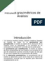 Metodos Gravimetricos de Analisis