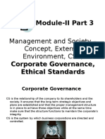 3- Corporate Governance & Ethical Standards