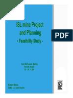 Feasibility Study for ISL Mine
