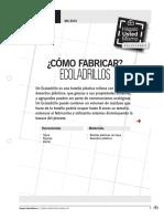 _como Fabricar Ecoladrillos