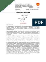 Formulas de Tiopental y Fenobarbital
