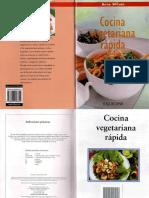 Cocina Vegetariana Rapida