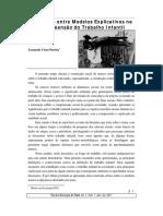 Confronto Entre Modelos Explicativos Na Compreensão Do Trabalho Infantil - Leonardo César Pereira