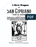 El Libro Magno de San Cipriano