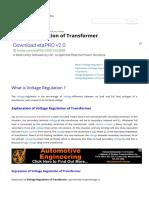 Voltage Regulation of Transformer _ Electrical4u