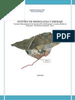 Estudio Hidrologia y Drenaje