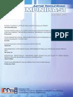 Jurnal Komunikasi 2014 Maret v No.1