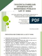 Intervención Del Ministerio Público en La Ley 30364