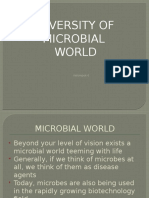 Diversity of MICROBIAL WORLD.pptx