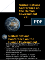 United Nations Conference on the Human Environment (.pptx
