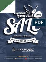 City Music Sale 2015