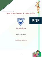 KG Curriculum 2016 17_AL AIN