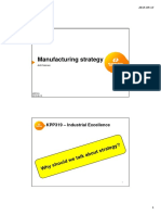 Lecture 3 - Manufacturing Strategy 20150915