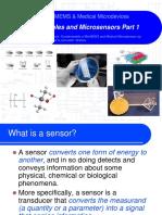 Sensor Principles and Microsensors Part 1a